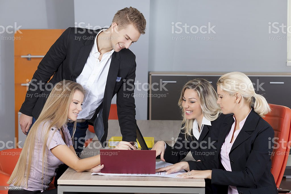 Business planing royalty-free stock photo