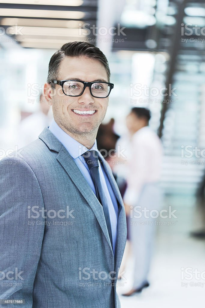 Business portrait looking at camera. royalty-free stock photo