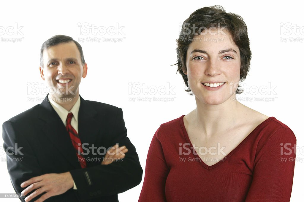 Business portrait royalty-free stock photo