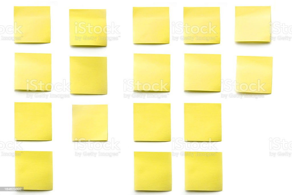 business post its stock photo