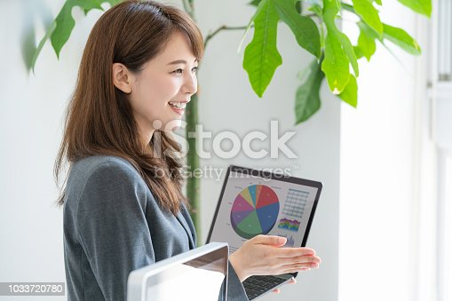 istock Business presentation concept. 1033720780