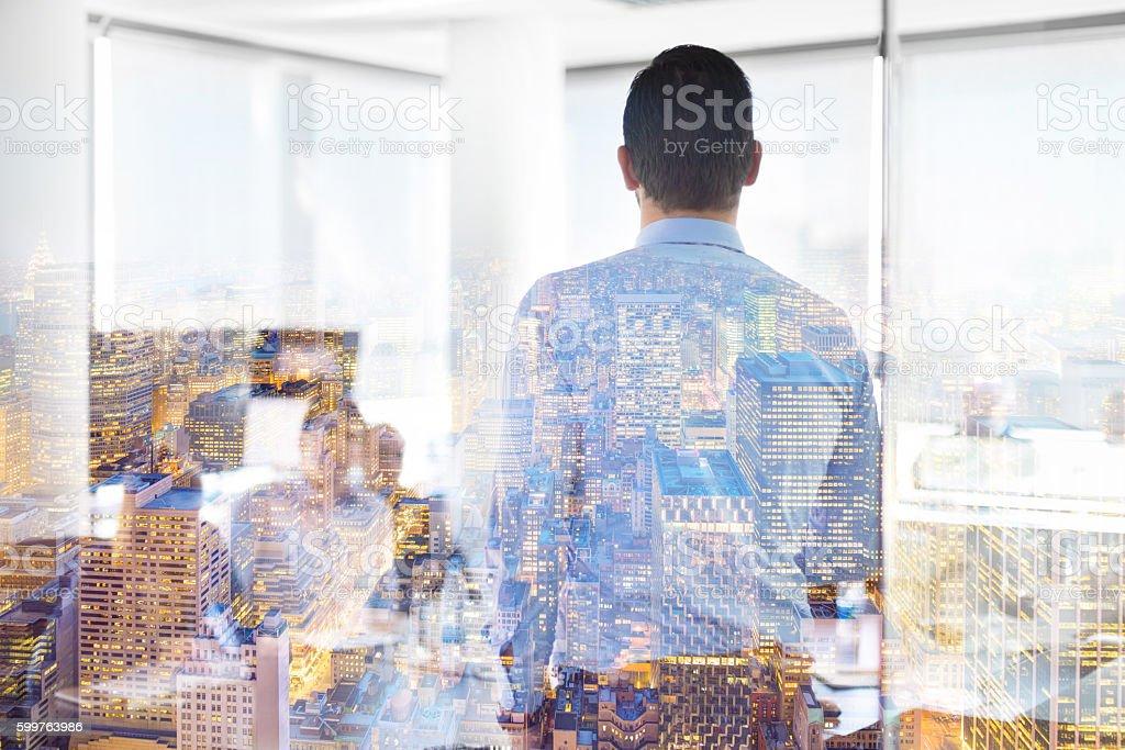 Business-Präsentation auf Firmenmeetings.   – Foto