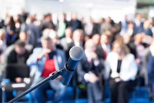 Business-Präsentation oder Unternehmenskonferenz – Foto