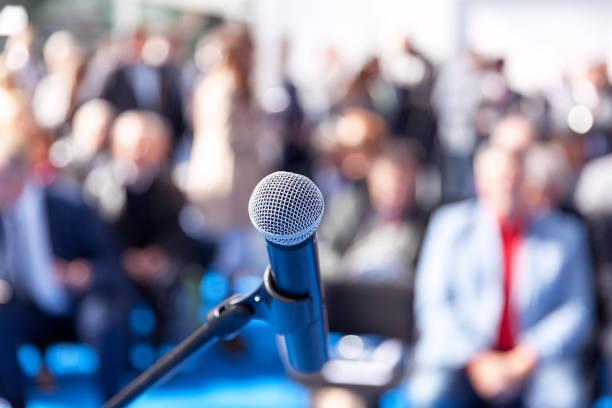 Präsentation oder Firmenkonferenz – Foto