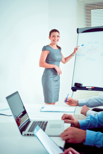 Business Presentation Stock Photo - Download Image Now