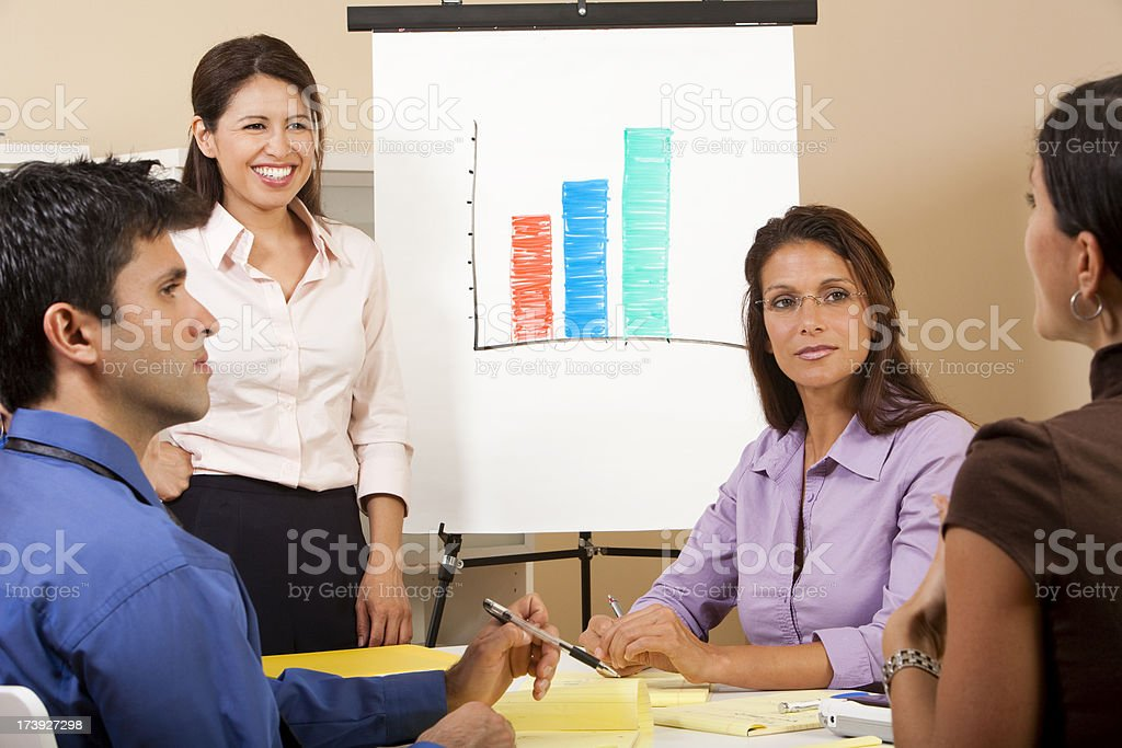 Business Presentation royalty-free stock photo