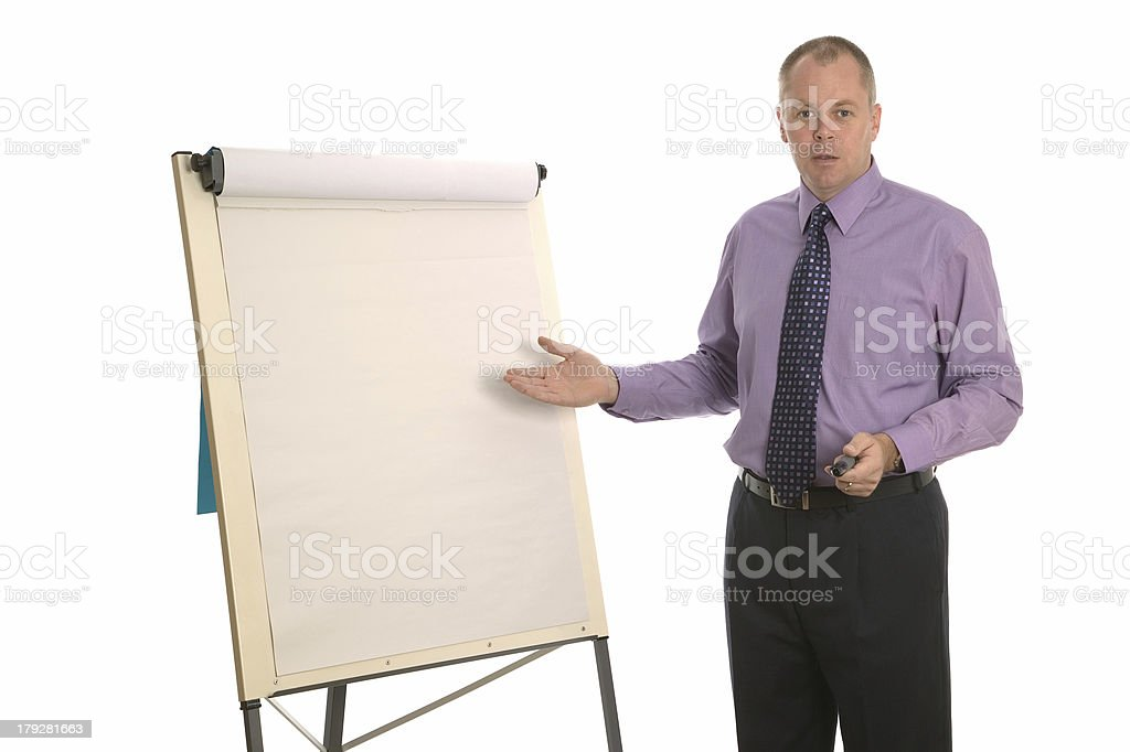 Business presentation. royalty-free stock photo