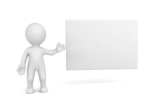 business presentation - stick figure stock photos and pictures