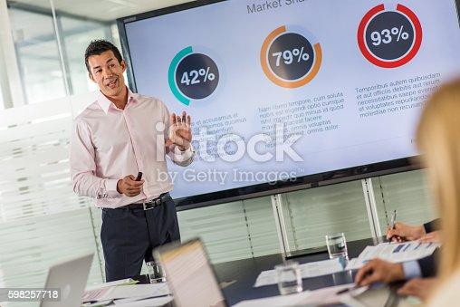 istock Business presentation 598257718