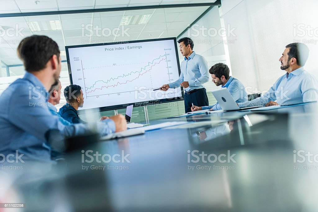Business Presentation Stock Photo  More Pictures Of Adult  Istock