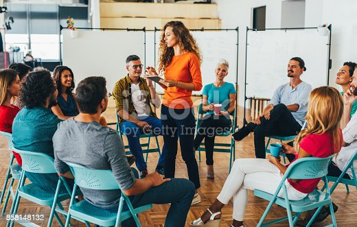 istock Business presentation 858148132