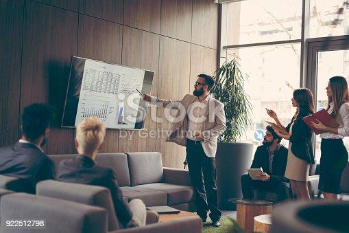 istock Business presentation 922512798