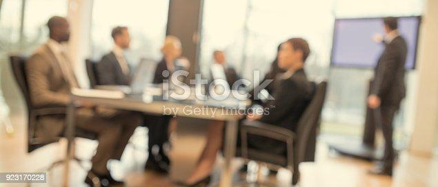 istock Business presentation 923170228