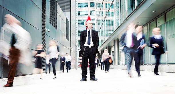 business-punk - anti unordnung stock-fotos und bilder