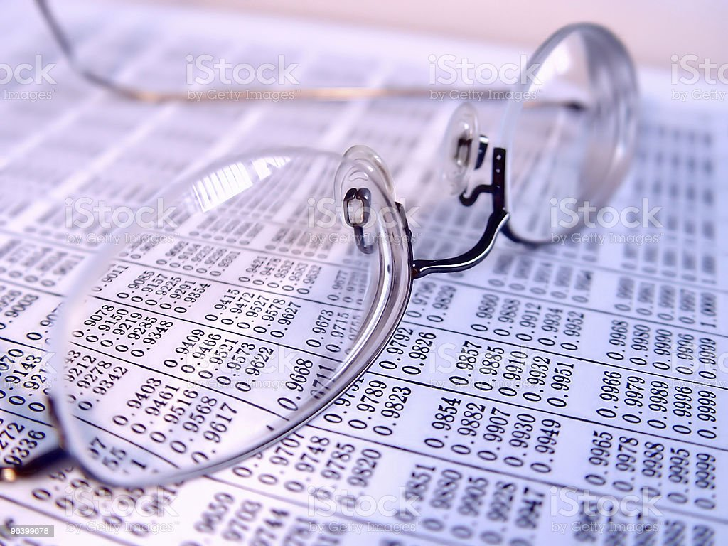 Business Reading Glasses - Royalty-free Abstract Stock Photo