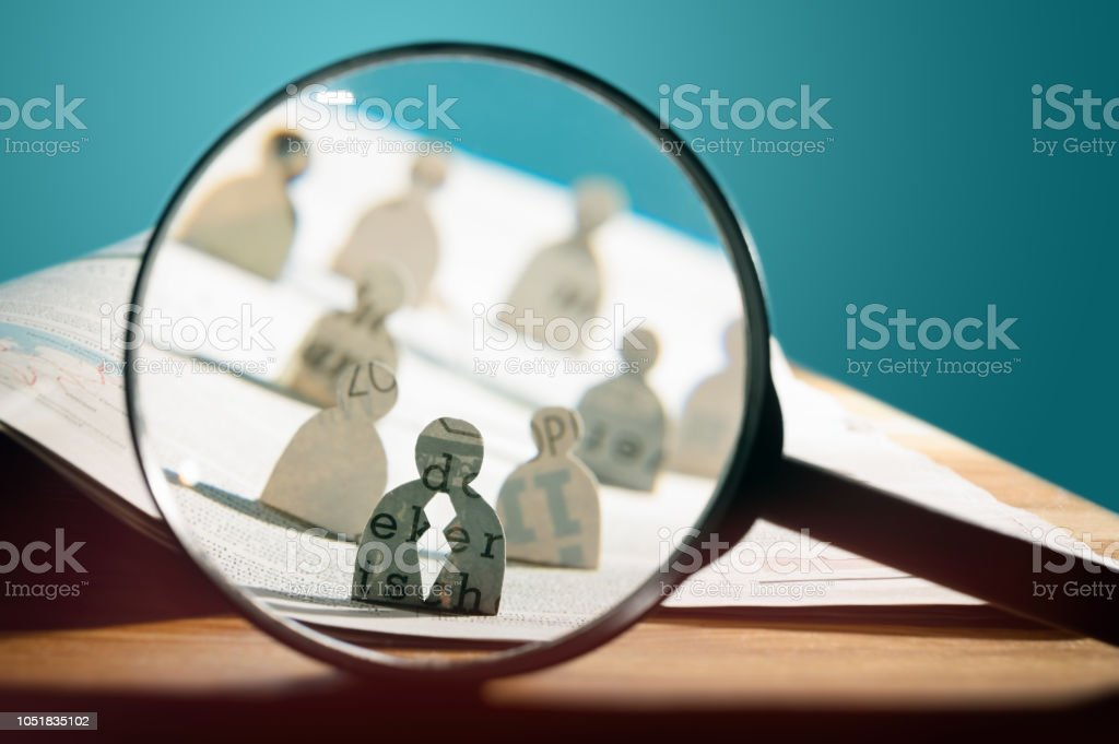 Business recruitment or hiring photo concept. stock photo