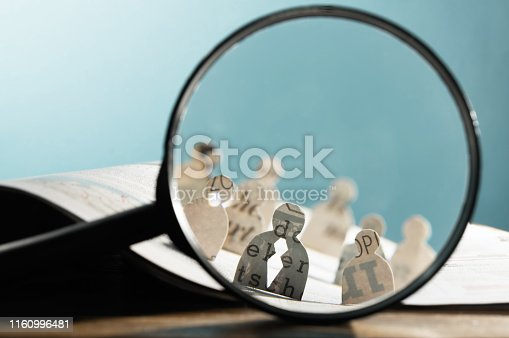 istock Business recruitment or hiring photo concept. 1160996481