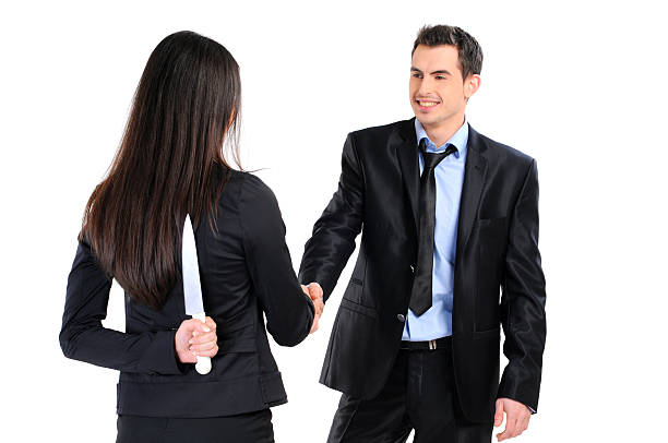 business relationship stock photo