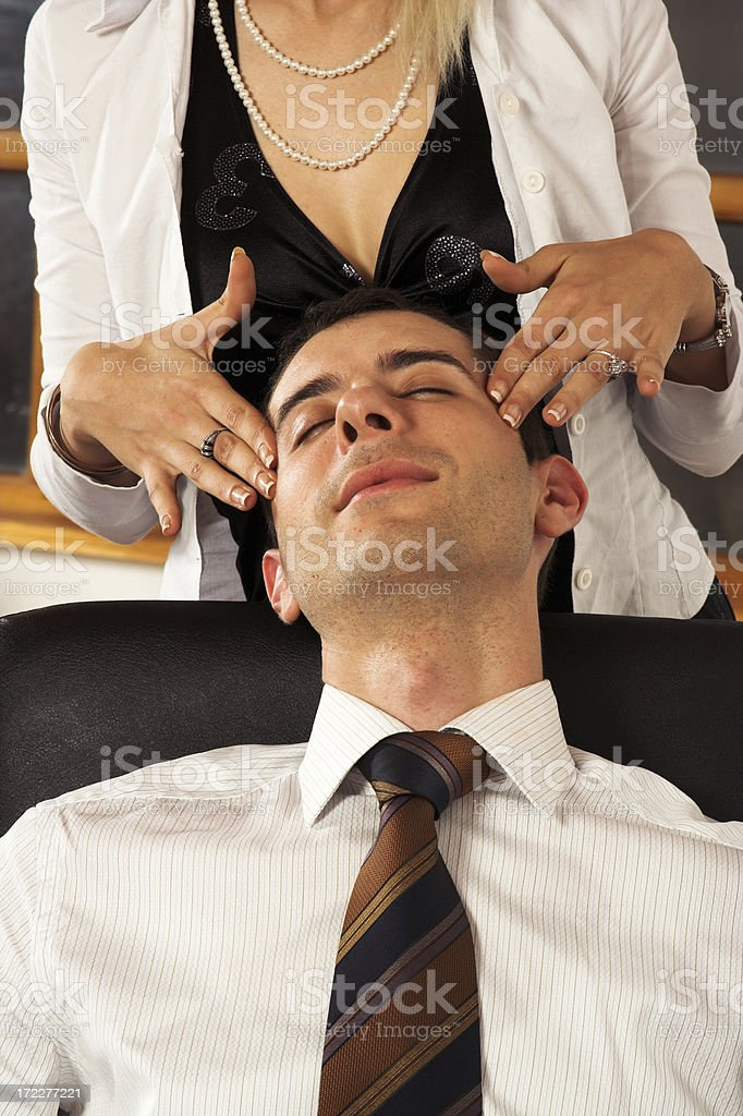 Business relax royalty-free stock photo