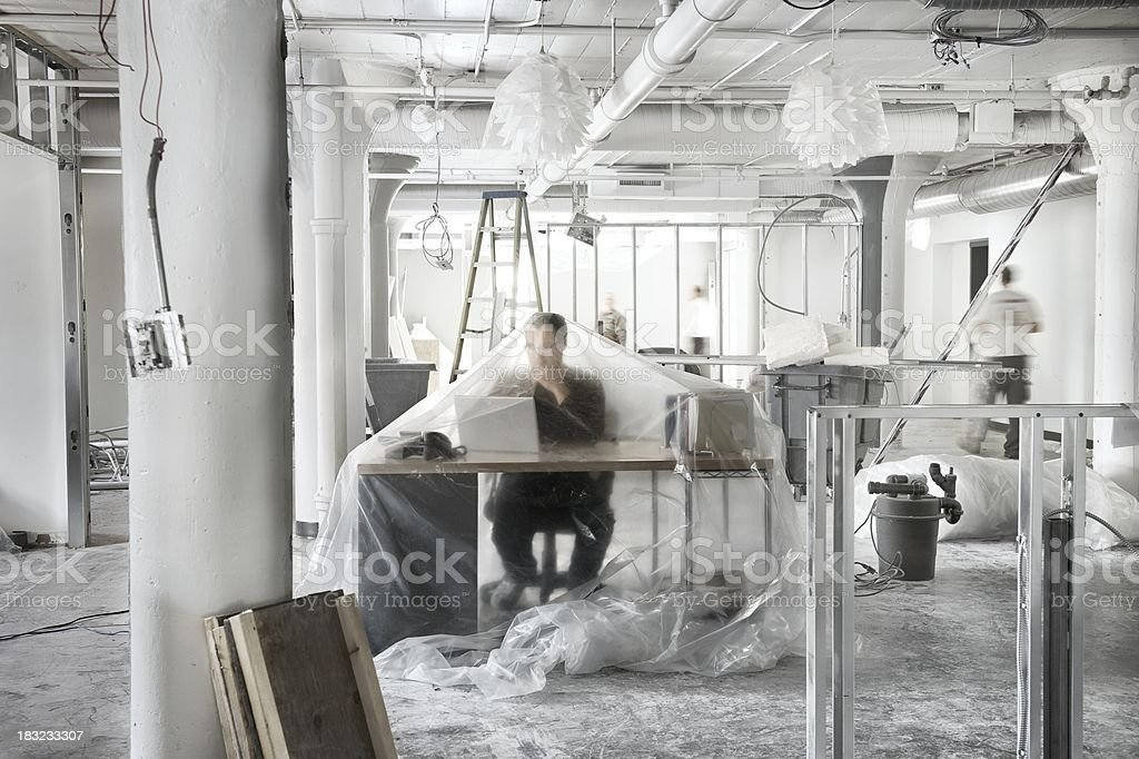 Business Renovations stock photo
