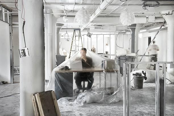 Business Renovations stock photo