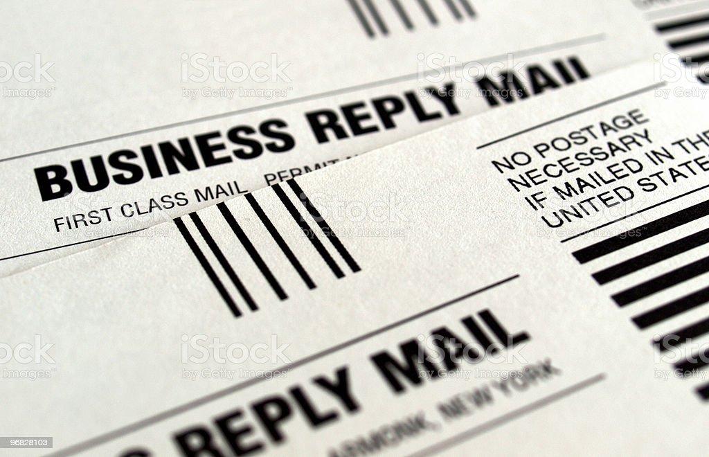 Business-Antwort – Foto