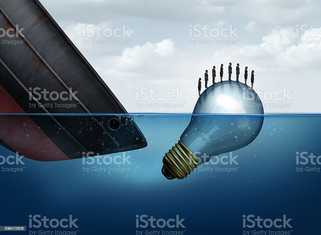 Business Rescue Solution stock photo