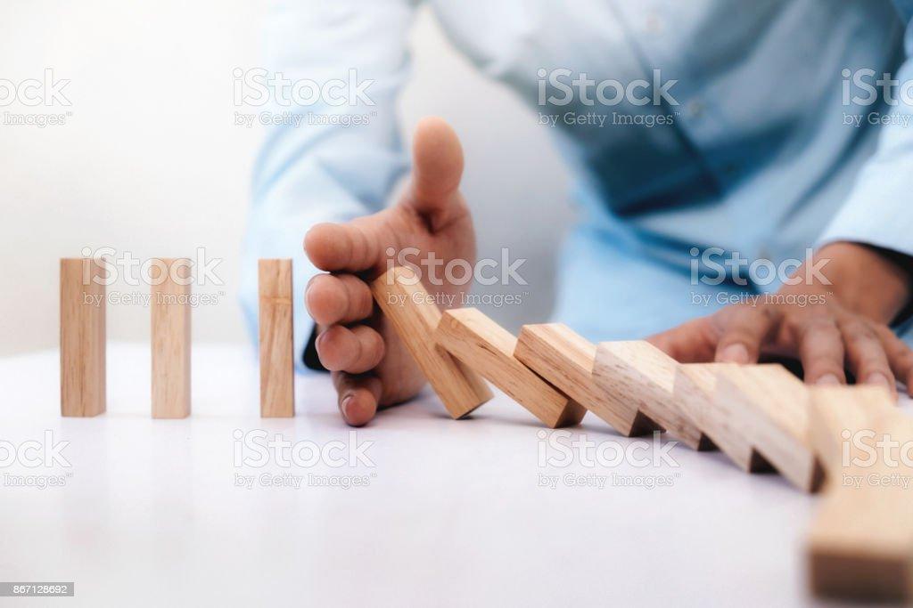 Unternehmerisches Risiko, Strategie und Planung Konzeptidee. – Foto