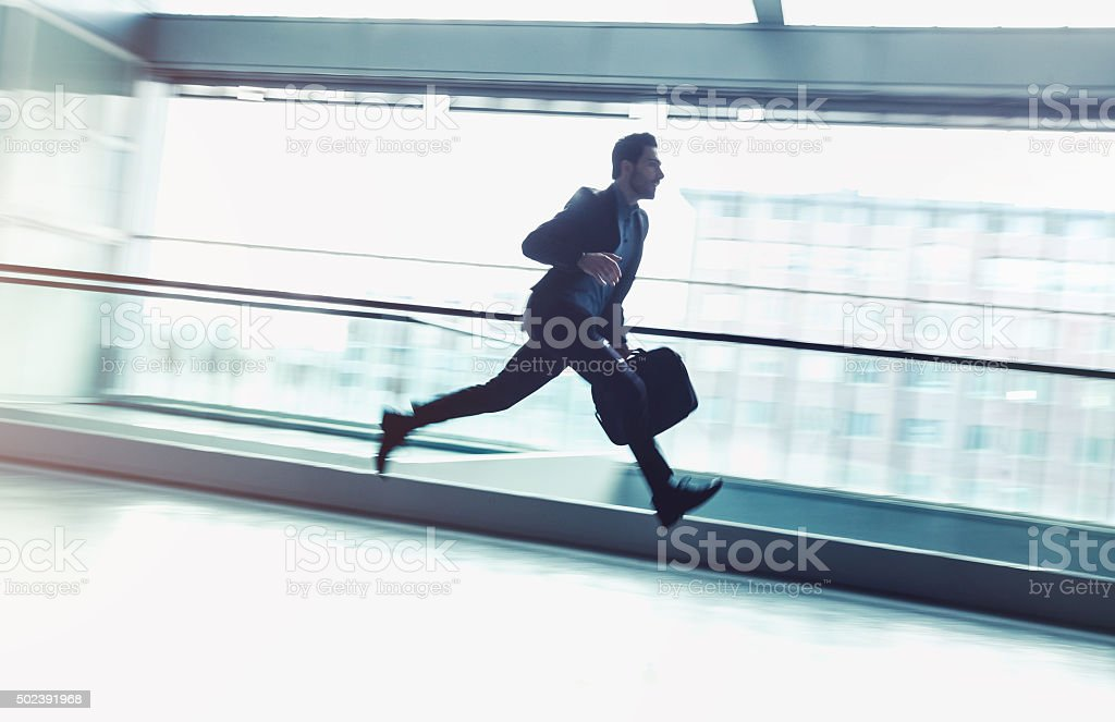 Business Rush Hour stock photo