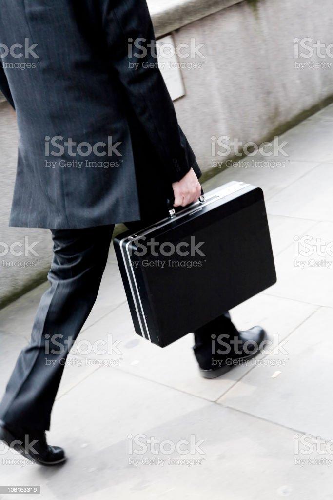 Business Rushing royalty-free stock photo