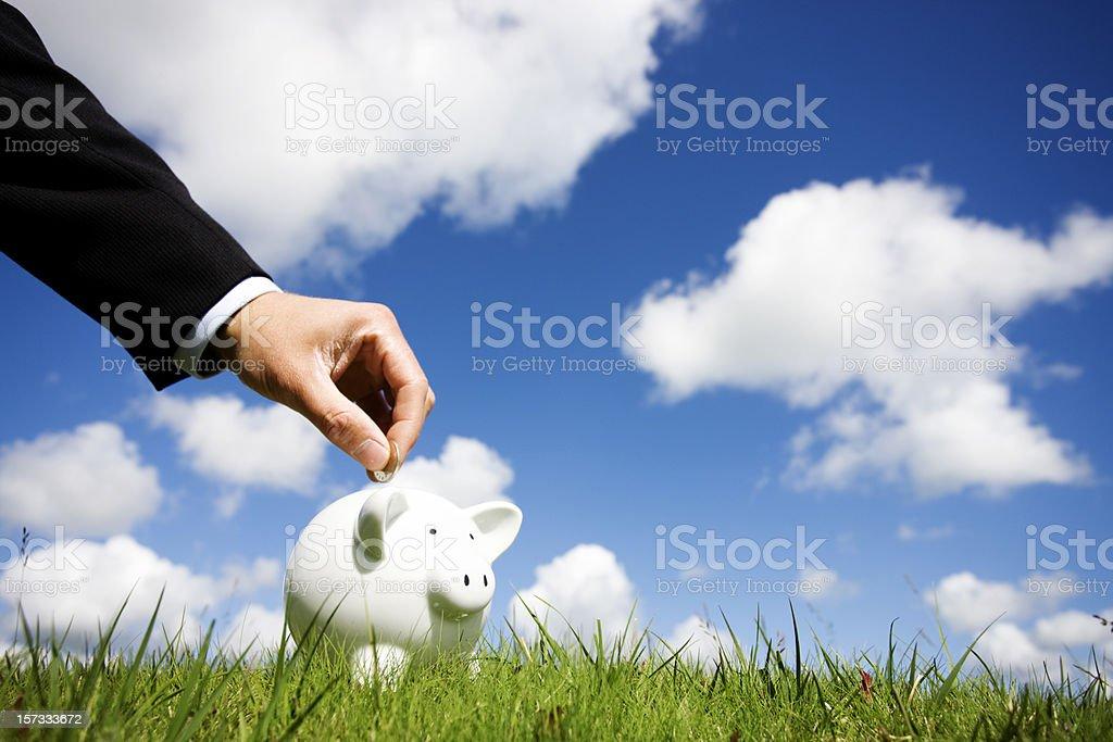 Business savings royalty-free stock photo