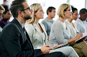 istock Business seminar in progress 1056974998