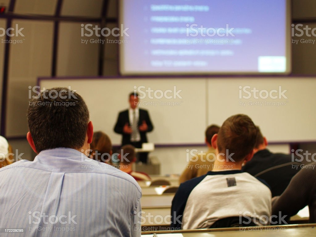 Business Seminar royalty-free stock photo