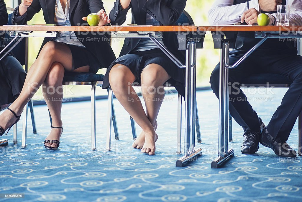 Royalty Free Legs Under Table Pictures Images and Stock Photos iStock