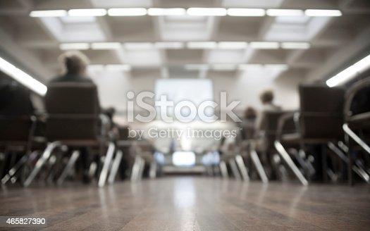 istock Business seminar 465827390
