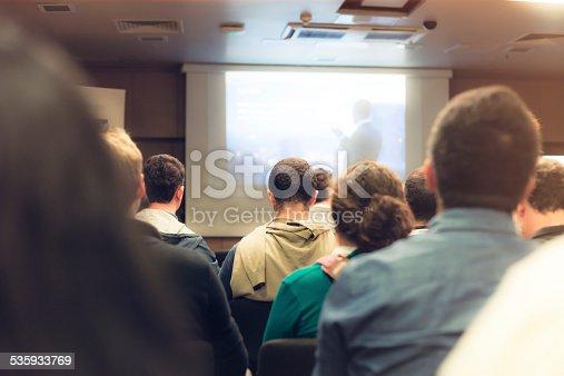 614852062istockphoto Business seminar 535933769