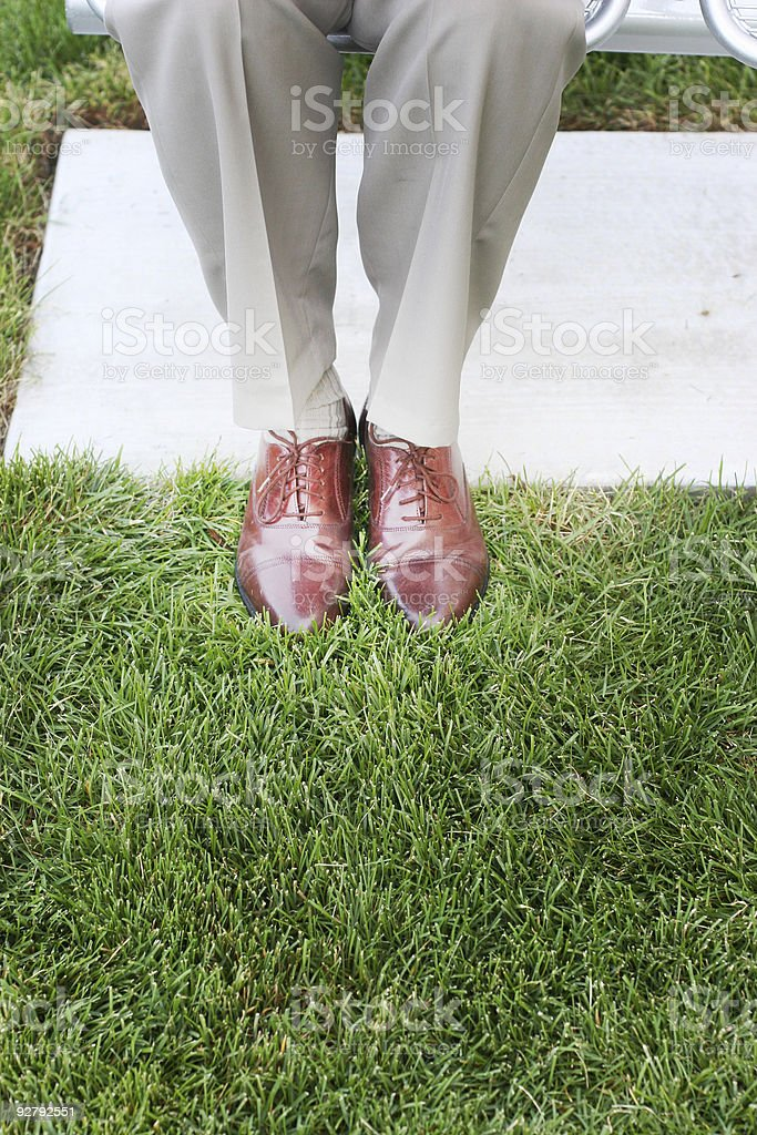 Business Shoes royalty-free stock photo