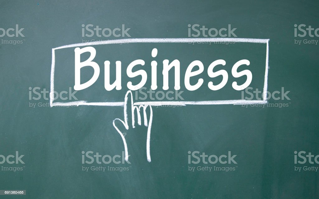 business sign stock photo