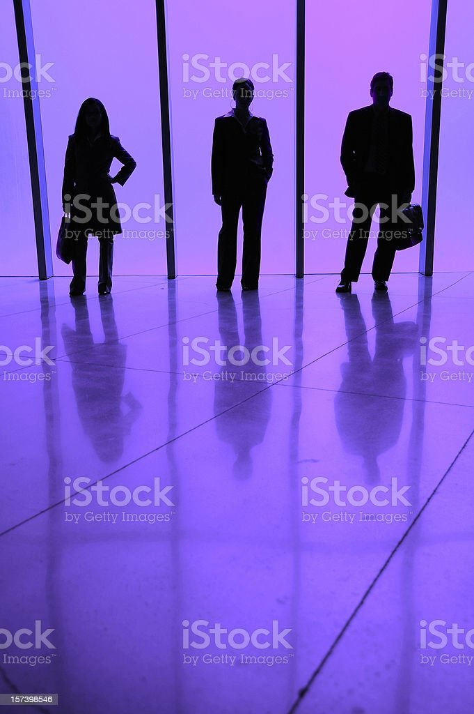 Business Silhouette stock photo