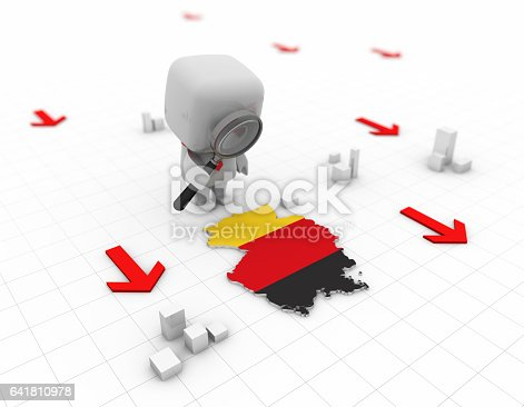 istock Business small white people, representing the white-collar workers and workers from all walks of life 641810978