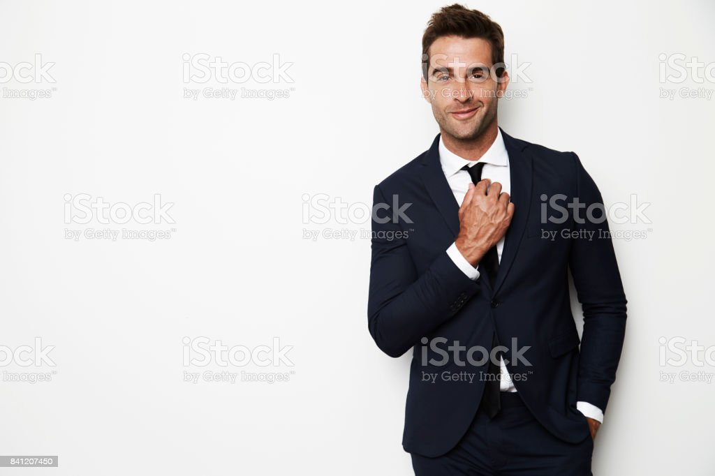 Business smarts stock photo