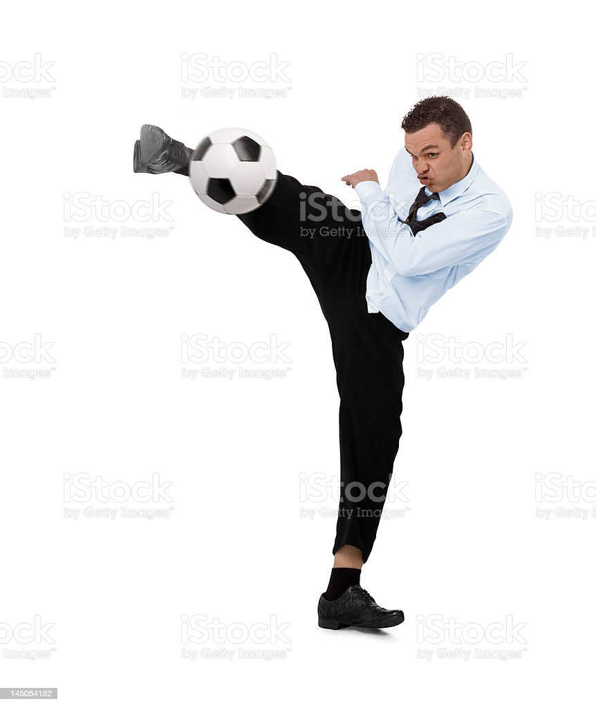 business soccer royalty-free stock photo