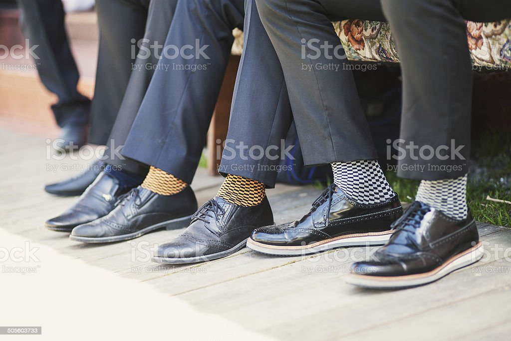 Business socks stock photo