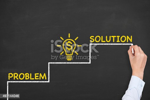 istock Business Solution Finance Concept 497144046