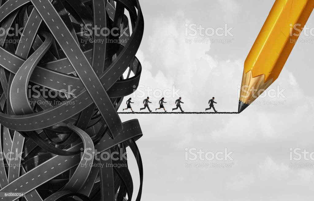 Business Solution Opportunity stock photo