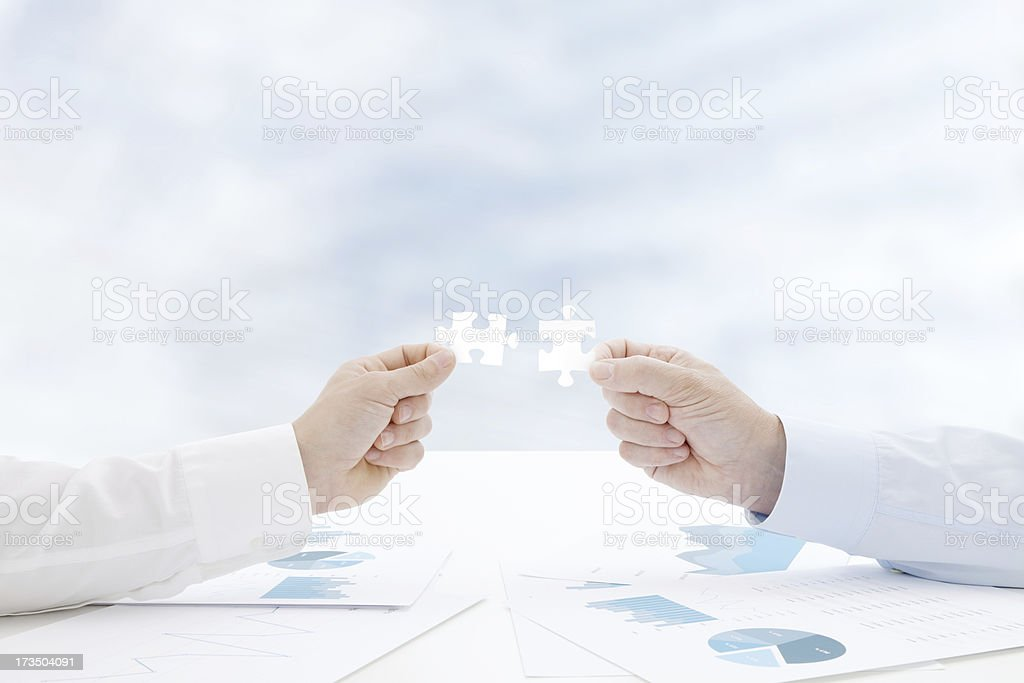 Business Solution royalty-free stock photo