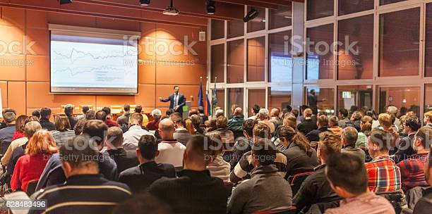 Business speaker giving a talk in conference hall picture id628483496?b=1&k=6&m=628483496&s=612x612&h=e5sqf5agkomqxhvrmxsvmndtc9vi2oce r3tsamsx0u=