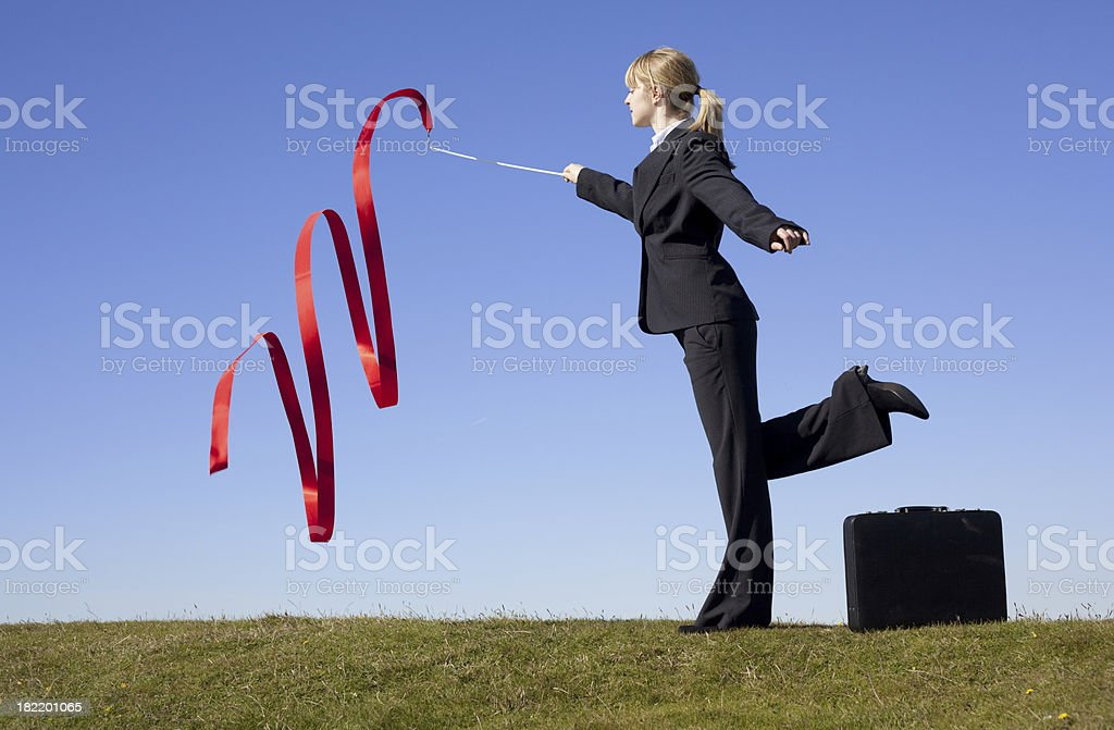 business spell royalty-free stock photo