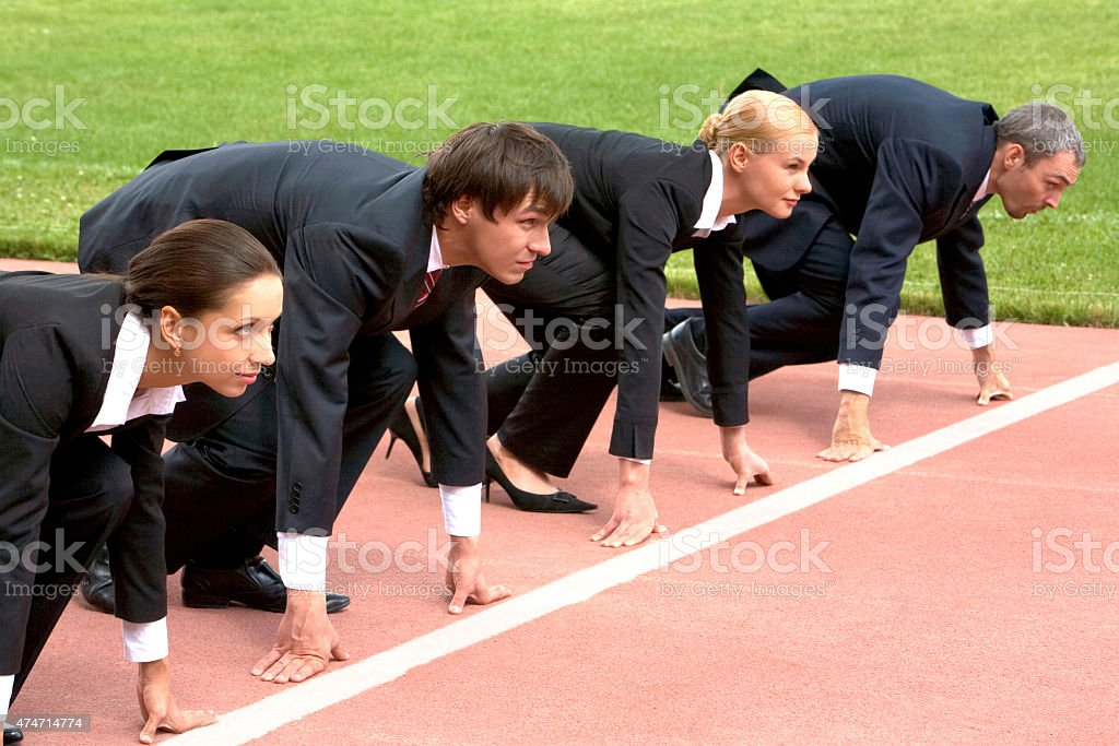 Business start stock photo