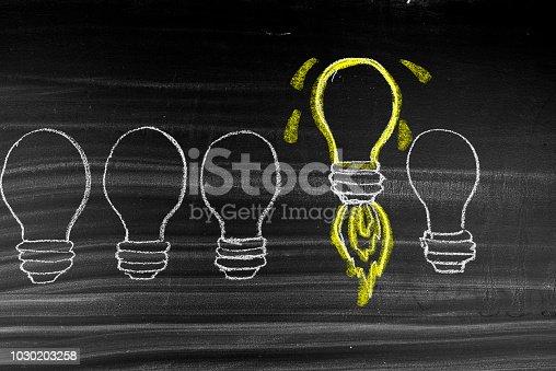 istock Business start up idea 1030203258